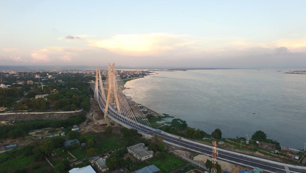 Corniche de Brazzaville en République du Congo