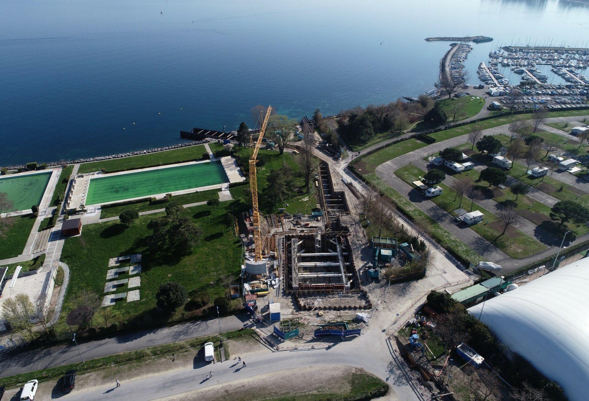 Réseau énergétique Morges du Lac en Suisse